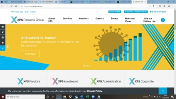The XPS Pensions Group website