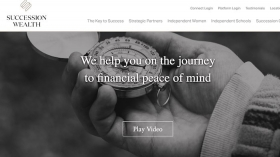 Succession Wealth website