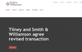Smith & WIlliamson website