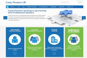 Carey Pensions website