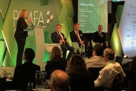 Paul Feeney (on the right of the panel) at the PIMFA Summit