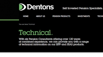 Dentons website