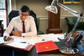 New Chancellor Rishi Sunak MP - courtesy HM Treasury