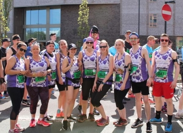 AFH's team of runners