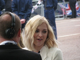 TV presenter Fearne Cotton