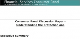 Financial Services Consumer Panel report