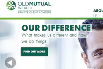 Old Mutual Wealth PCA website