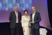 Stephen Jones with Nick Cann and Marlene Shalton at IFP Annual Conference 2012