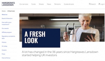 Hargreaves Lansdown's new look