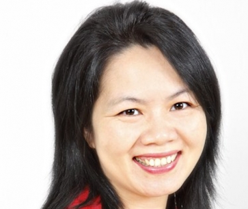 Editor of the book, Lien Luu, a Certified Financial Planner