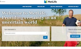 MetLife website