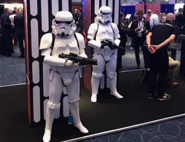 PFS Forces Event exhibition area in London - Storm Troopers