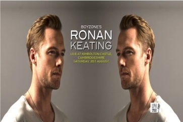 Financial Planner sponsors Ronan Keating event in Cambs