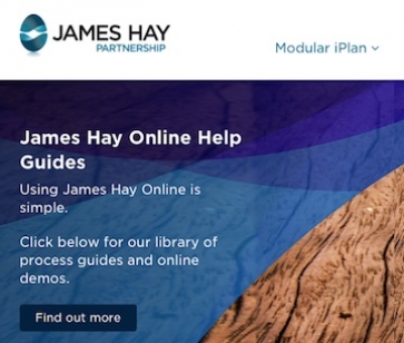 James Hay website