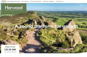Harwood Wealth website