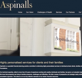 Aspinall's website