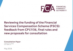 FCA Consultation Paper on FSCS funding