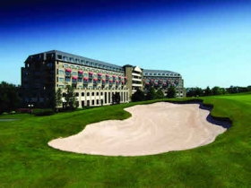 Celtic Manor, where the conference is taking place today