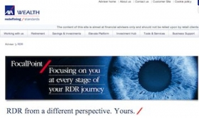 AXA's website