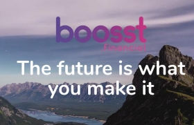 The website of the (genuine) boosst.financial