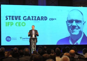 Steve Gazzard, speaking at an IFP conference