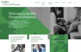New Quilter Financial Planning website