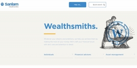 Sanlam website