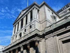 Bank of England building.