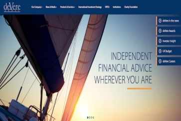 deVere website
