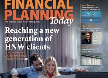 Financial Planning Today magazine Front Cover