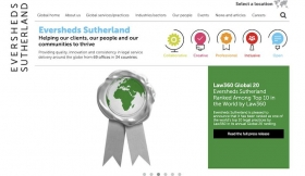 Eversheds Sutherland website