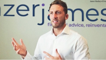 James Mackay, MD of Frazer James Financial Advisers