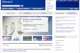 Moody's website