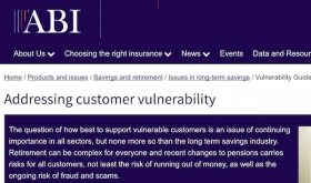 ABI Website - Vulnerable Customers guidance