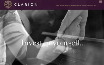 Clarion Wealth website