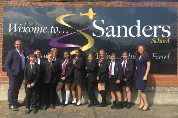Cervello financial education at Sanders School