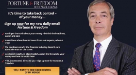 Nigel Farage's Fortune & Freedom project