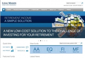 Legg Mason website