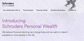 Schroders Personal Wealth website