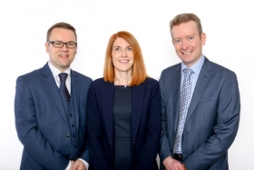 Kevin Wood, Kirsty Watson, Allan Sillars of Watson Wood Financial Planning