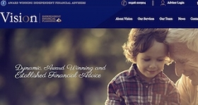 Vision Independent Financial Planning's website