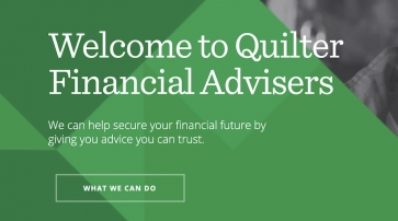 Quilter Financial Advisers website