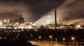 South Wales steelworks